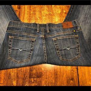 "Nice Lucky Brand Easy Rider Jeans sz 10 Inseam 32"""